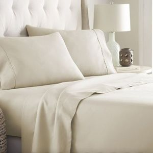 Other - TWIN Size CREAM 3 Pieces SHEET SETS